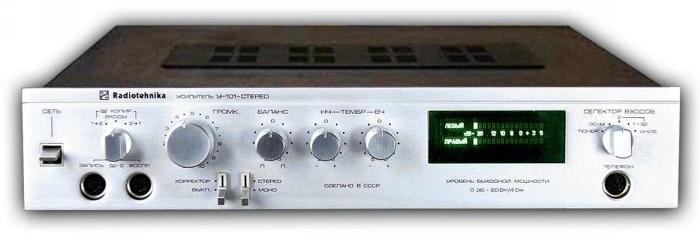 Схемы электрические принципиальные усилителей Radiotehnika.  Усилитель Радиотехника предназначен для стерео и...