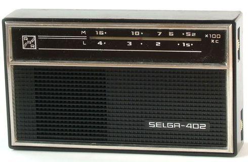 Черная и белая. Selga-402