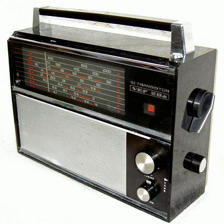 Схема vef 204. Радиоприёмник