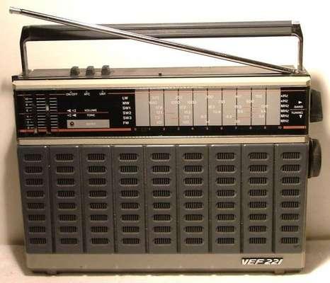 ПЧ. Радиоприемник VEF-317