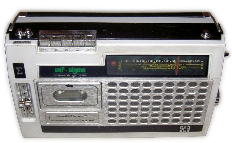 VEF-Sigma 260 в белом корпусе